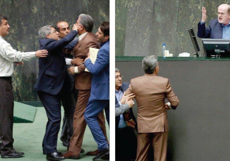 بالقوة: إسكات نائب مطرود في برلمان إيران