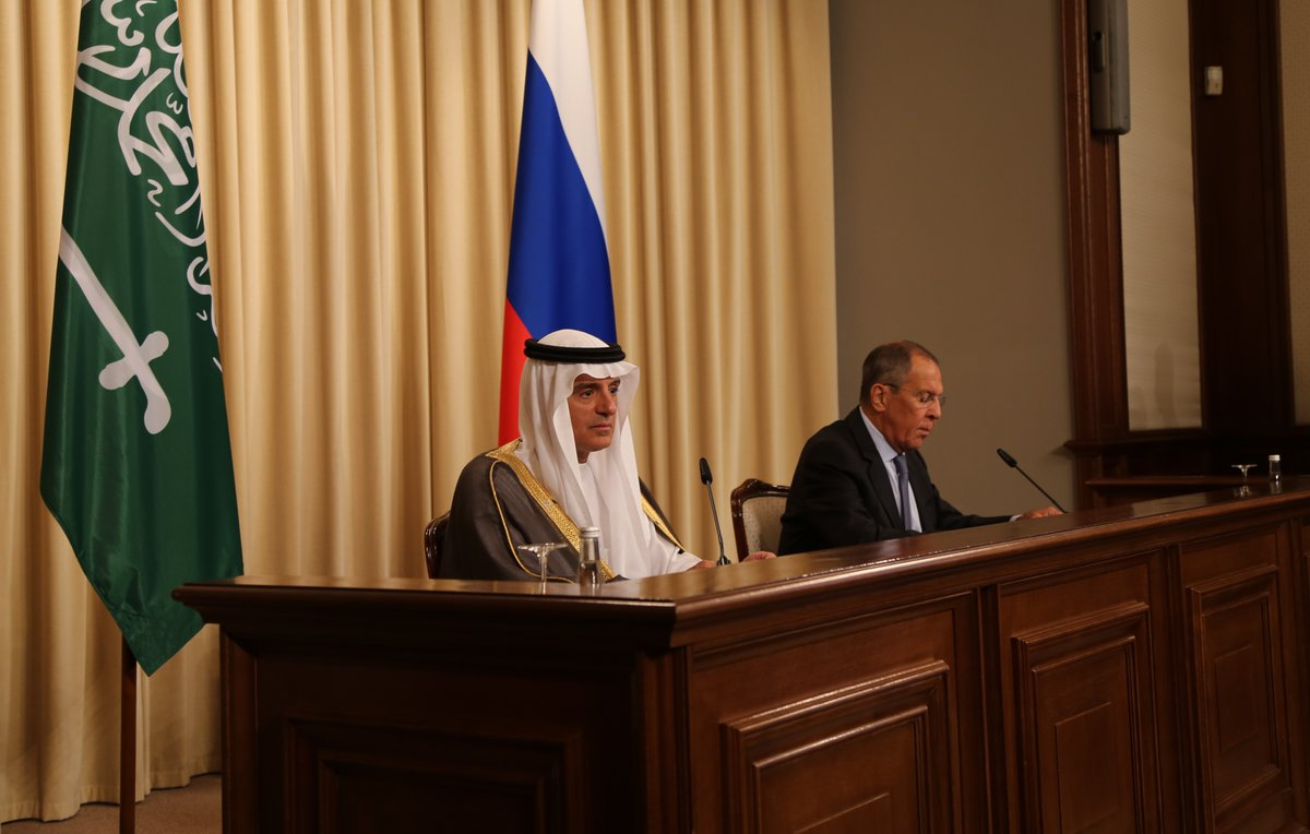 الجبير: نقلة نوعية في العلاقات مع روسيا.. ونؤيد المزيد من العقوبات على إيران