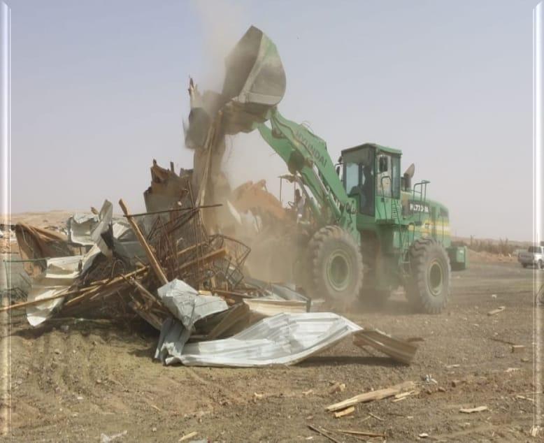 أمانة الرياض تزيل أكثر من ١٥٠٠ عنصر تلوث بصري شرقي العاصمة