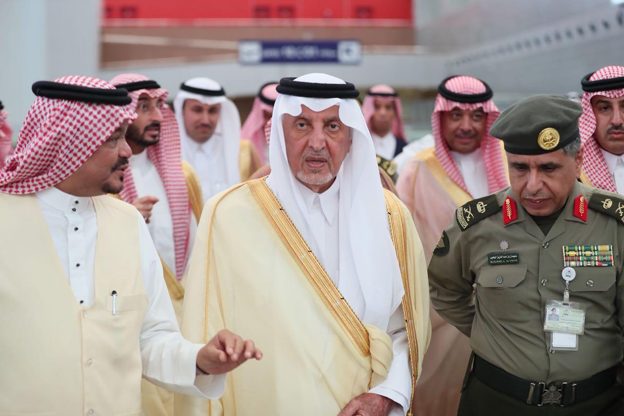 أمير مكة يوجه بالتوسع في استخدام التقنية لخدمة الحجاج