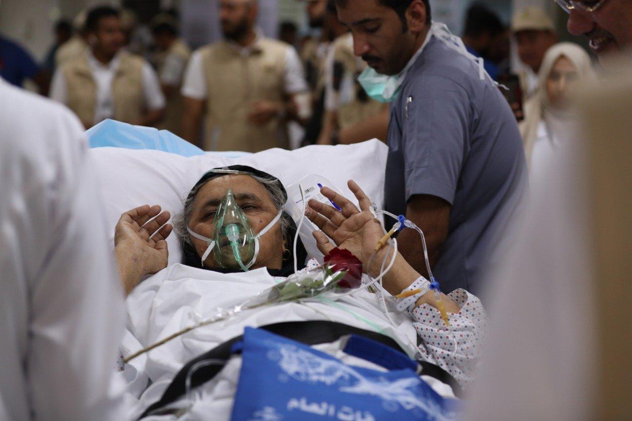 الصحة تقدم خدماتها لـ 43 ألف حاج يوم الوقفة