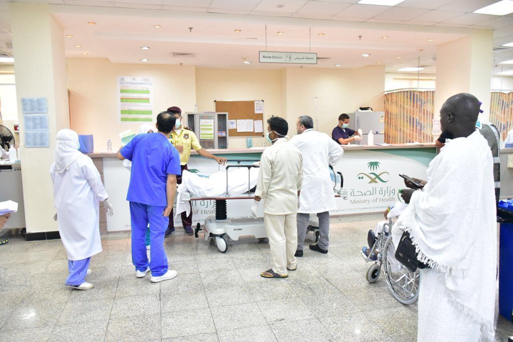أكثر من 8 آلاف حاج استقبلهم مستشفى منى للطوارئ في زمن قياسي