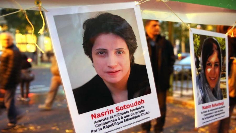 حقوقية إيرانية مسجونة تضرب عن الطعام