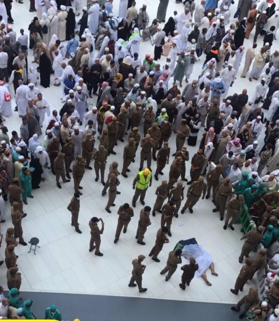 وفاة وافد سقط من سطح المسجد الحرام إلى صحن المطاف