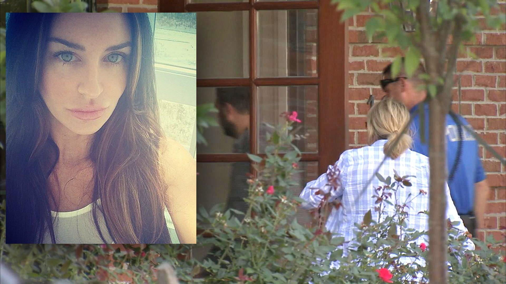 العثور على عارضة بلاي بويمقتولة خنقًا في منزلها