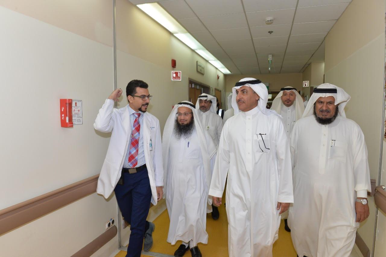 مدينة الملك عبد الله الطبية تنهي استعداداتها للحج