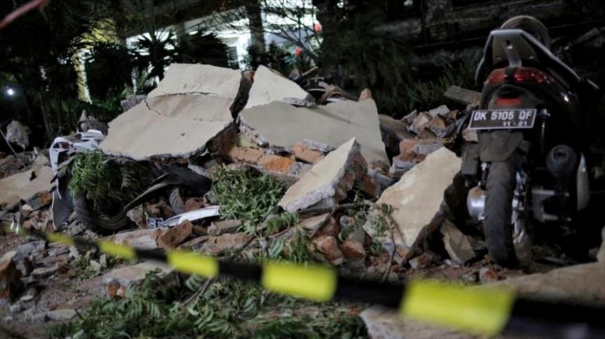 زلزال يضرب إقليم وسط سولاويسي الإندونيسي