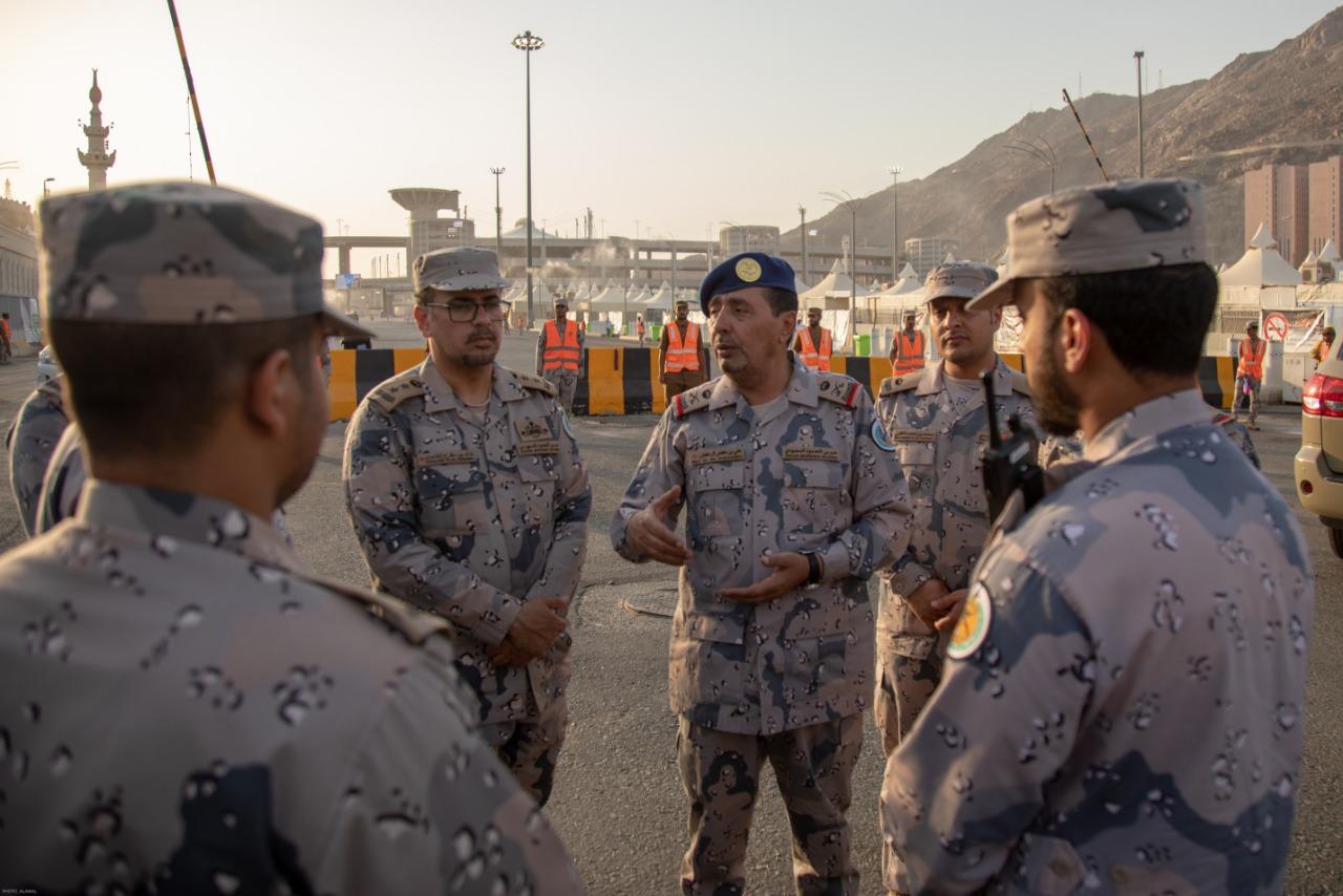 بالصور: قوات حرس الحدود تختتم مشاركتها بخدمة ضيوف الرحمن