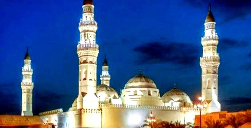 مسجد قباء المحطة الثانية لضيوف الرحمن