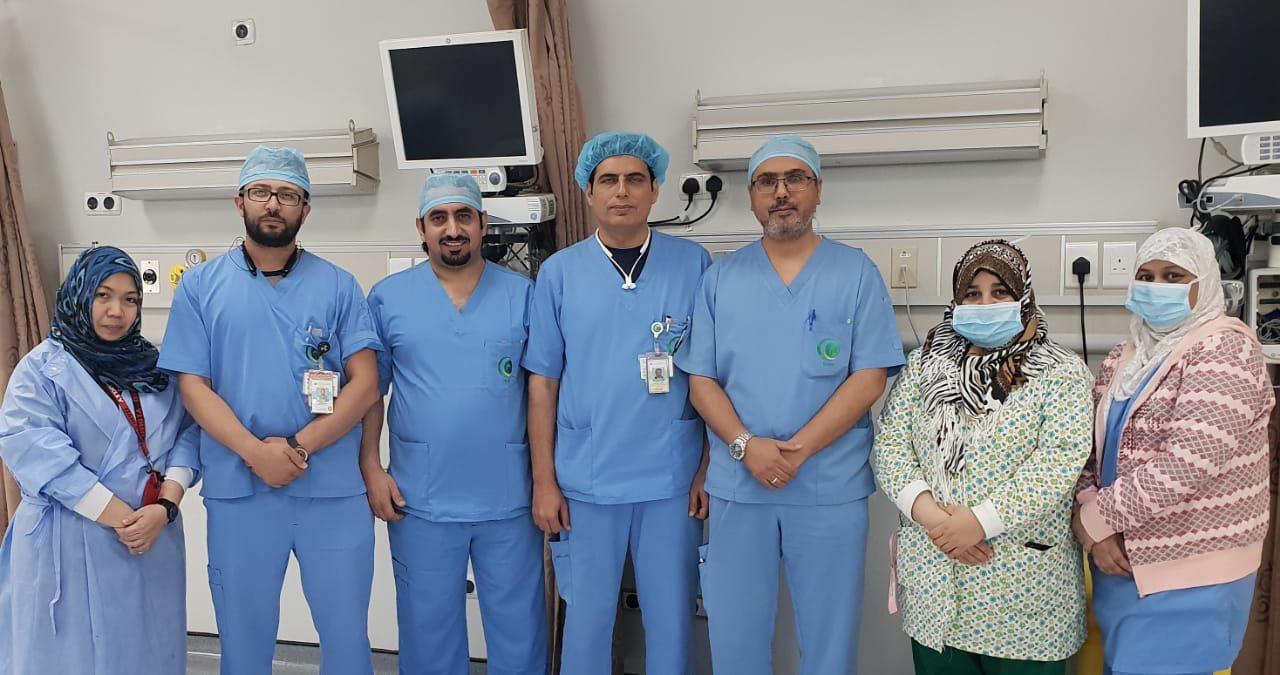 إنقاذ حاج ماليزي بعد انفصال حاد في شبكية العينين