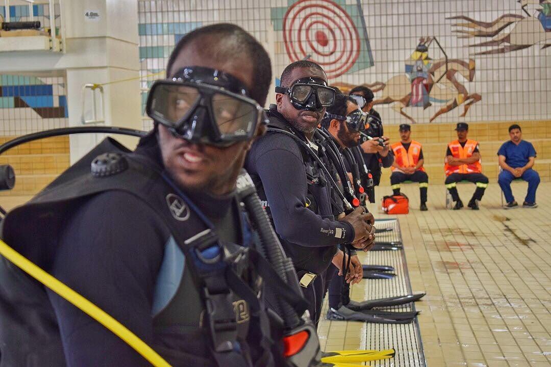 """صور.. """"الإنقاذ المائي"""" جاهز لمواجهة حوادث الغرق خلال موسم الحج"""