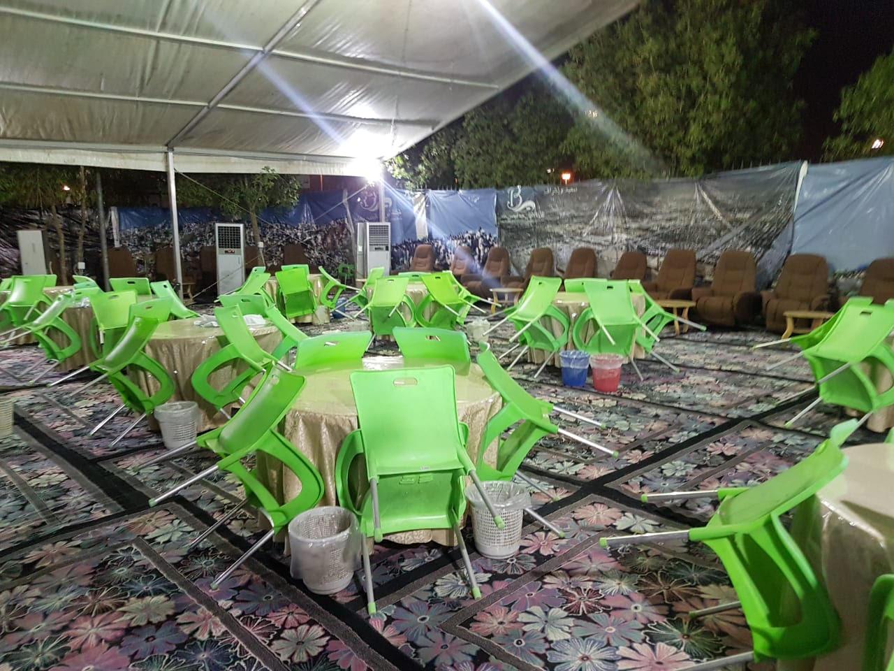 خيام أوروبية في مخيمات الحجاج العرب بعرفات لأول مرة