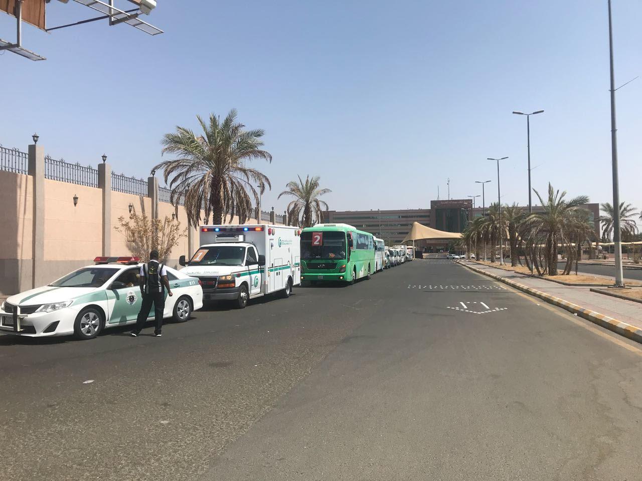مدينة الملك عبدالله تصعّد 42 حاجا من مرضاها المنومين لمشعر عرفات