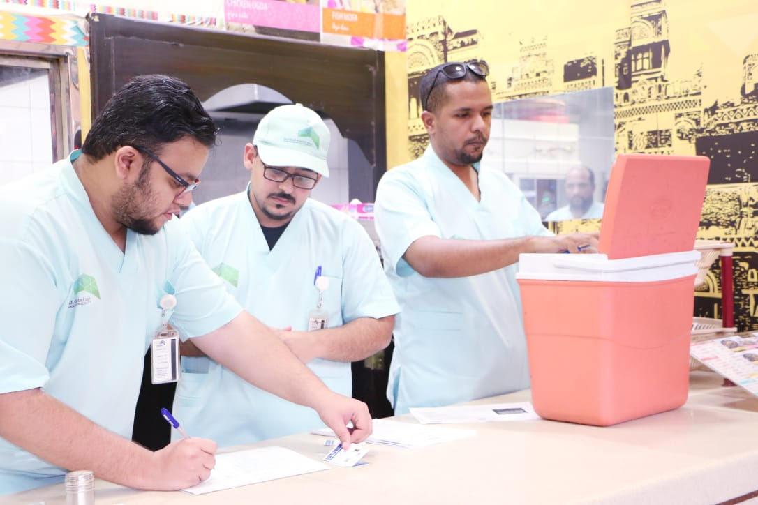 أمانة العاصمة المقدسة تراقب أكثر من 33 ألف منشأة غذائية