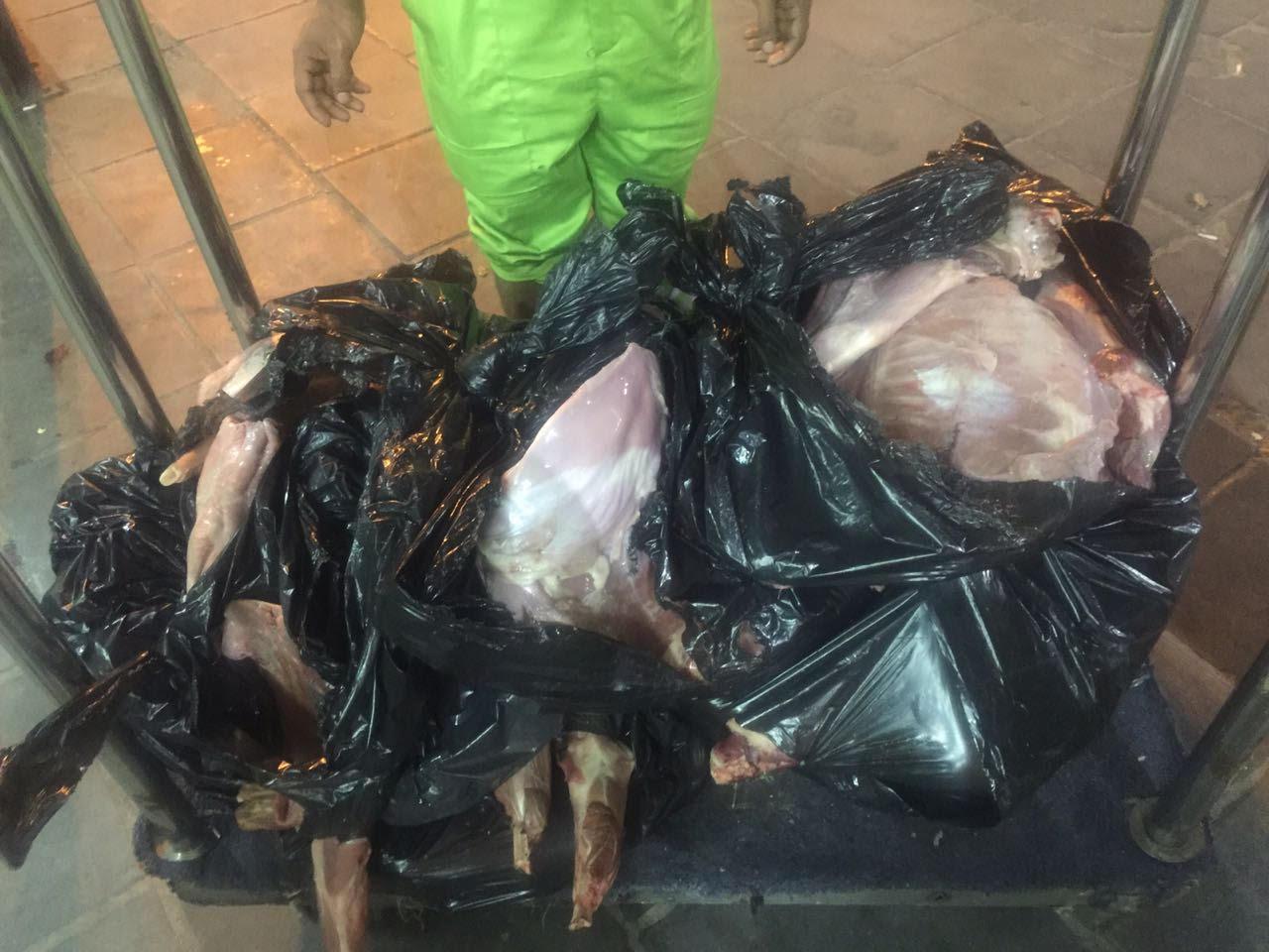 إتلاف 28 ذبيحة فاسدة في أجياد مكة
