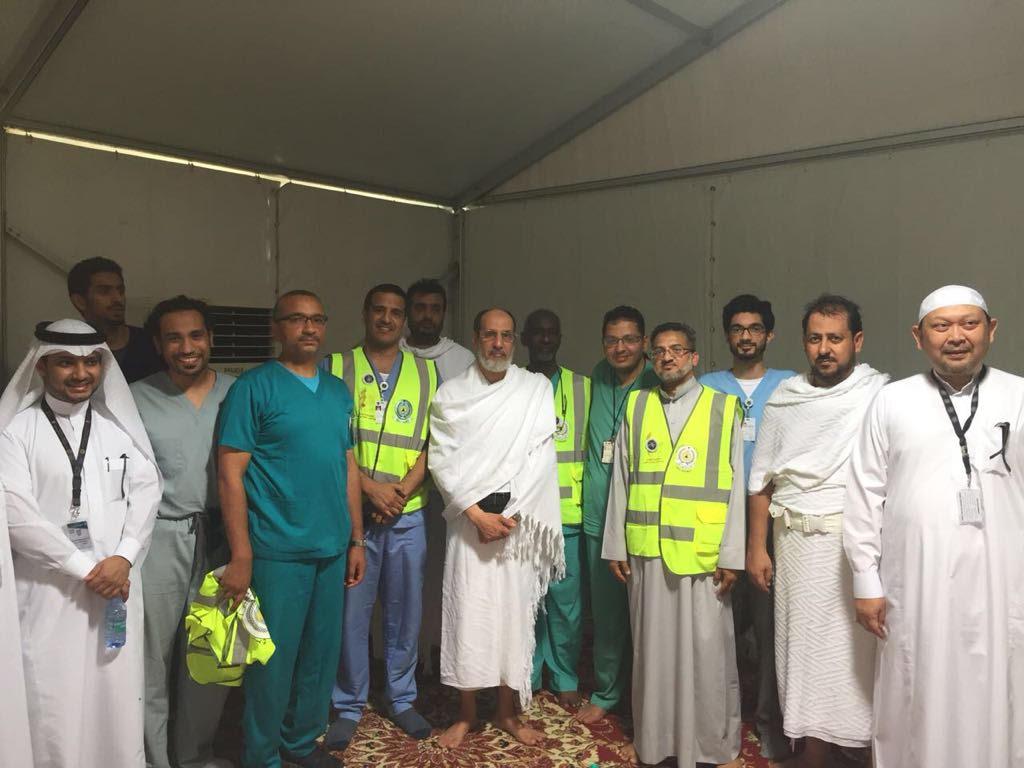 300 طالب من كليات الطب بأم القرى متطوعين لخدمة الحجاج