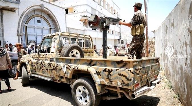 قصف مواقع الحوثيين بالمصلوب وصرواح