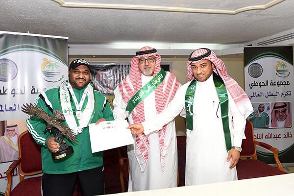 الرباع خالد الناجم يحل خامسا في البطولة الآسيوية