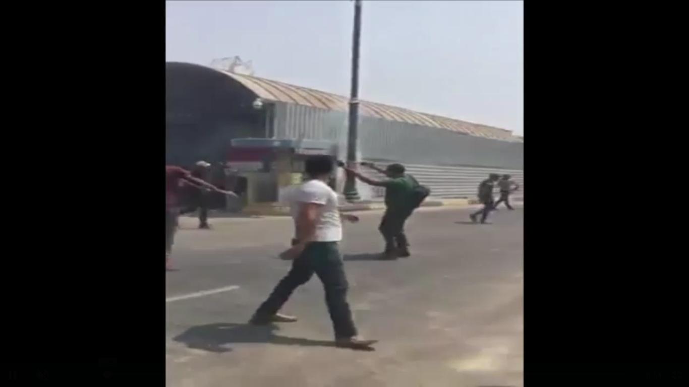 قتلى و جرحى في مواجهات بين محتجين وقوات الأمن العراقية والنار تلتهم مبنى محافظة البصرة
