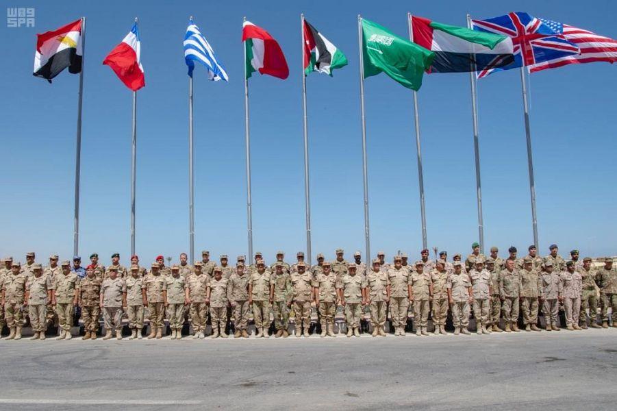 انطلاق تمرين النجم الساطع 2018 في مصر بمشاركة القوات المسلحة السعودية