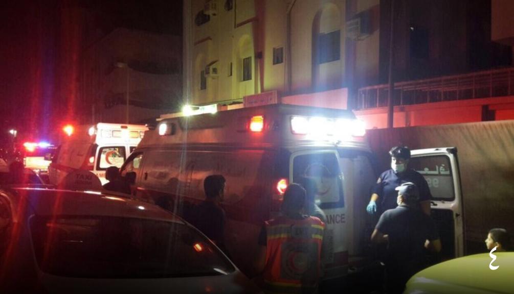 «7» حالات اختناق في حريق شقة سكنية بجدة