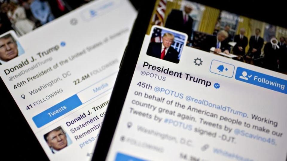 تويتر: حساب ترامب مهدد بالحظر