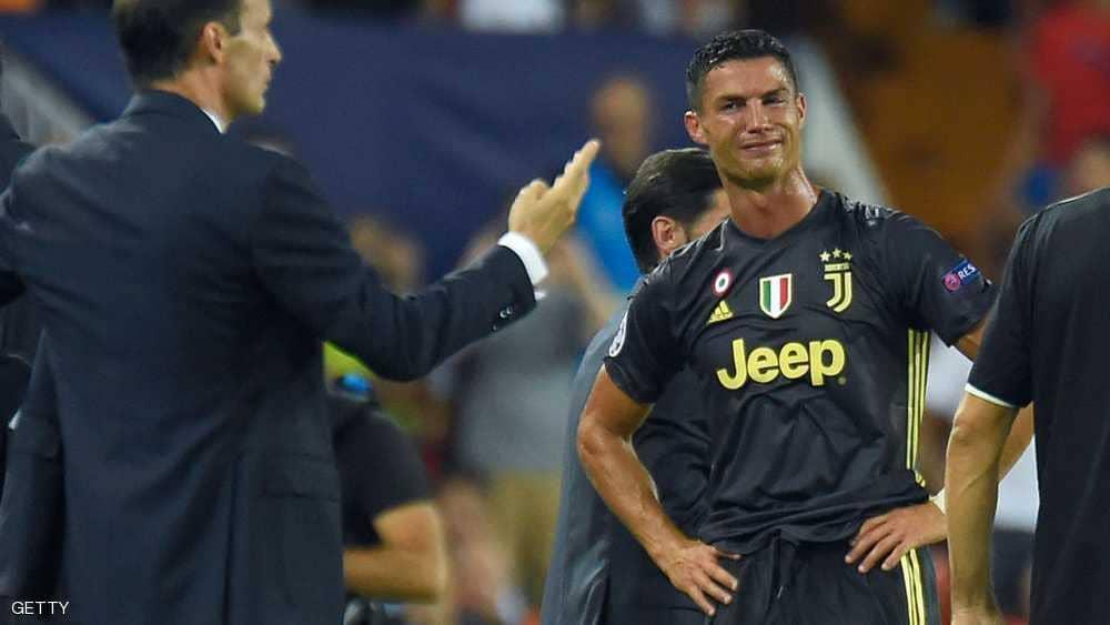 ثنائية رونالدو تقود يوفنتوس لرقم قياسي في الدوري الإيطالي