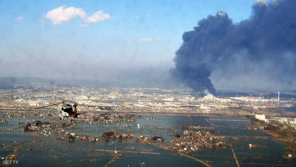 """اليابان تستفيق من إعصار """"جيبي"""" على زلزال عنيف"""