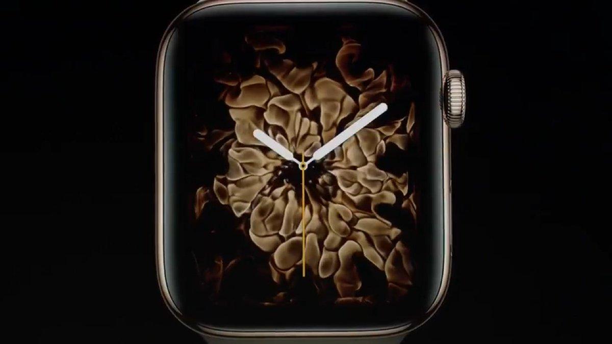 """شاهد .. التصاميم الديناميكية الجديدة لخلفيات ساعة """"ووتش 4"""""""
