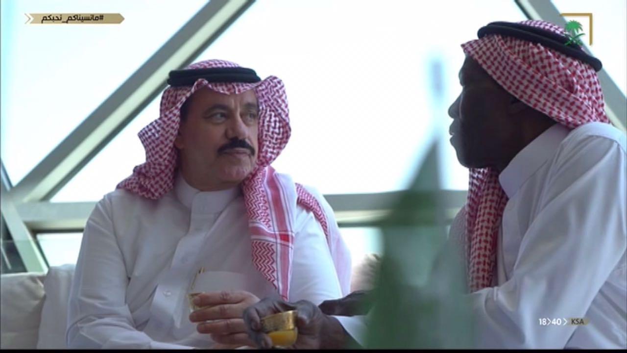 """"""" مانسيناكم نحبكم  """".. بادرة وفاء القناة السعودية في """"عرس الوطن"""""""