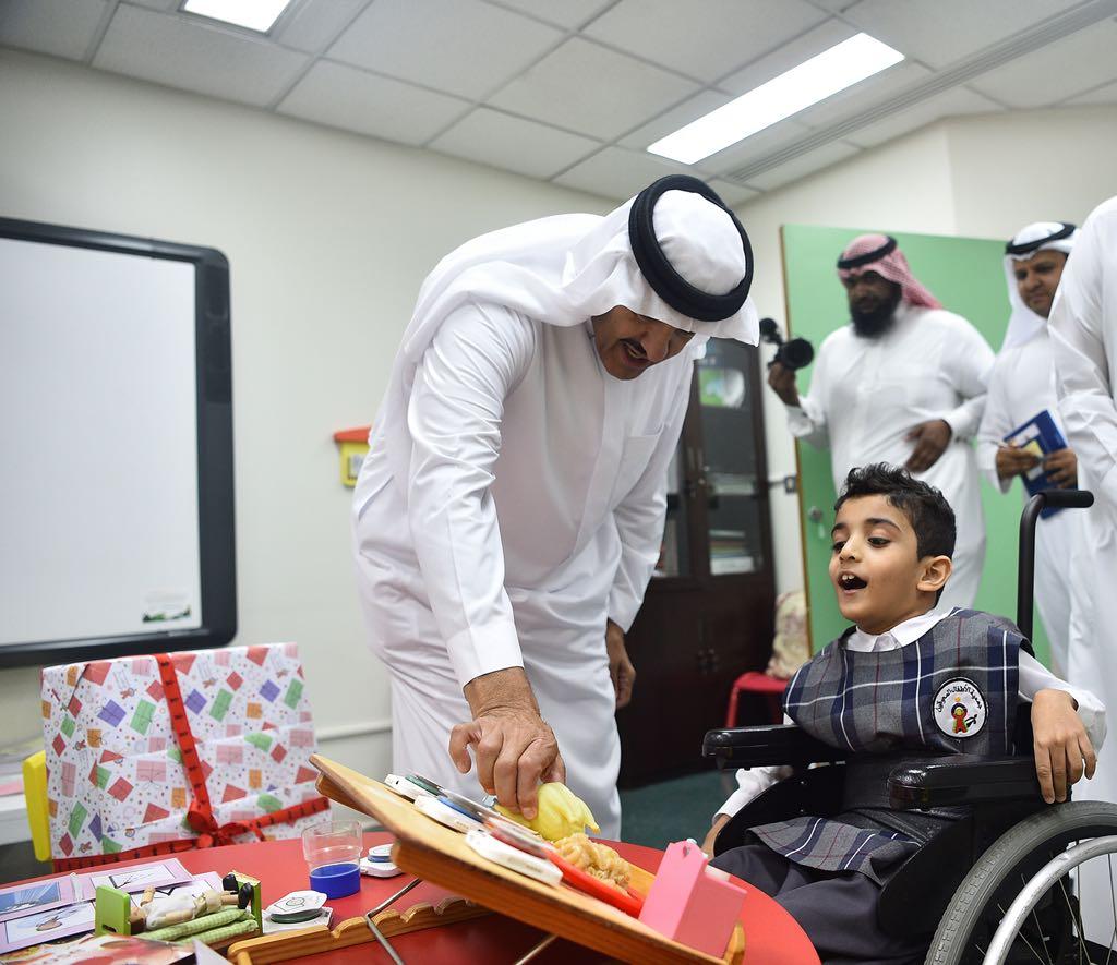 الأمير سلطان بن سلمان : ما نراه في جمعية الأطفال المعوقين اليوم هو نتاج تاريخ من ثقة الدولة والشركاء