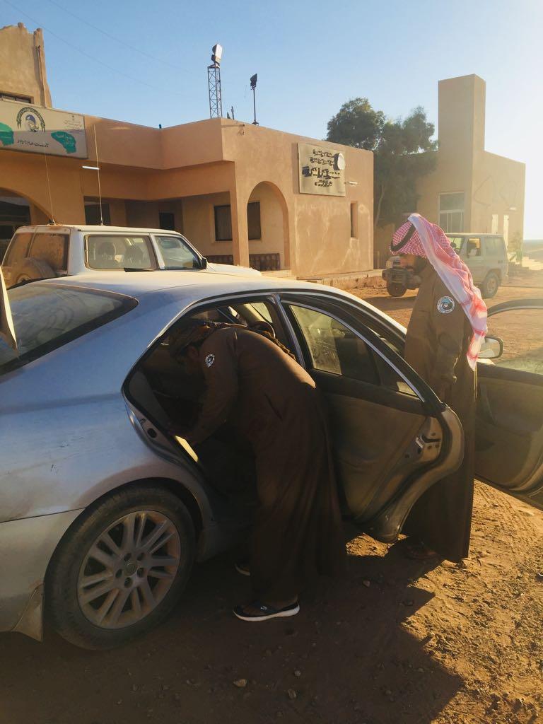 هيئة الحياة الفطرية: القبض على مهرب عمالة مخالفة في محمية الملك سلمان