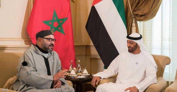 محمد بن زايد يلتقي ملك المغرب و يبحثان قضايا إقليمية
