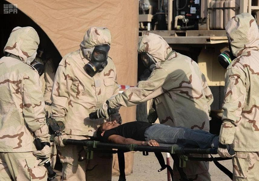القوات المسلحة تستعد لتنفيذ التمرين السعودي الأمريكي المشترك درع الوقاية 2