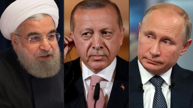 البيان الختامي لقمة طهران: اتفاق ثلاثي على مؤتمر حول اللاجئين السوريين