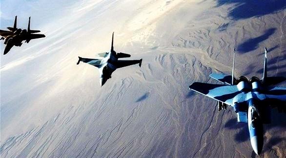 التحالف العربي يُغير على تعزيزات حوثية في مأرب