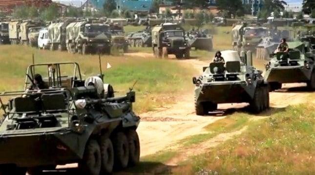 روسيا تبدأ أضخم المناورات العسكرية في تاريخها