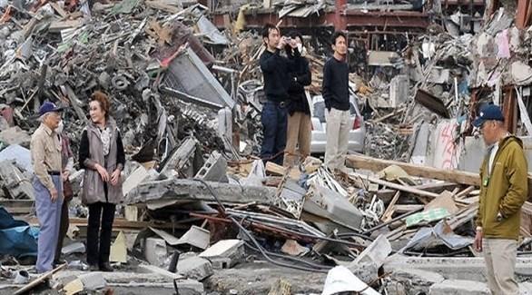 اليابان: 32 مفقودا و100 مصاب بعد زلزال بـ 6.7 درجات