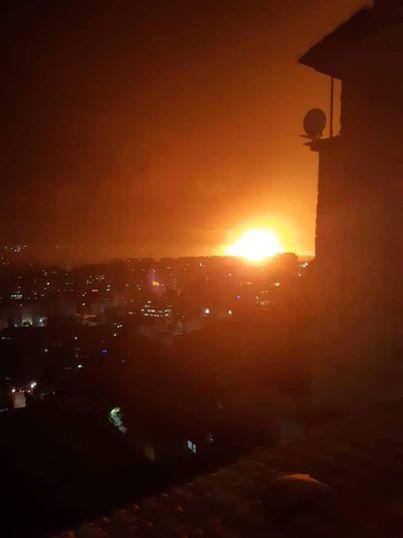 """سوريا تنفي تعرض مطار المزة العسكري """"لأي عدوان إسرائيلي"""""""