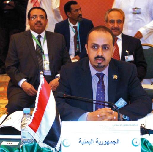 الإرياني: نثمن دور السعودية والإمارات في احتواء أحداث عدن