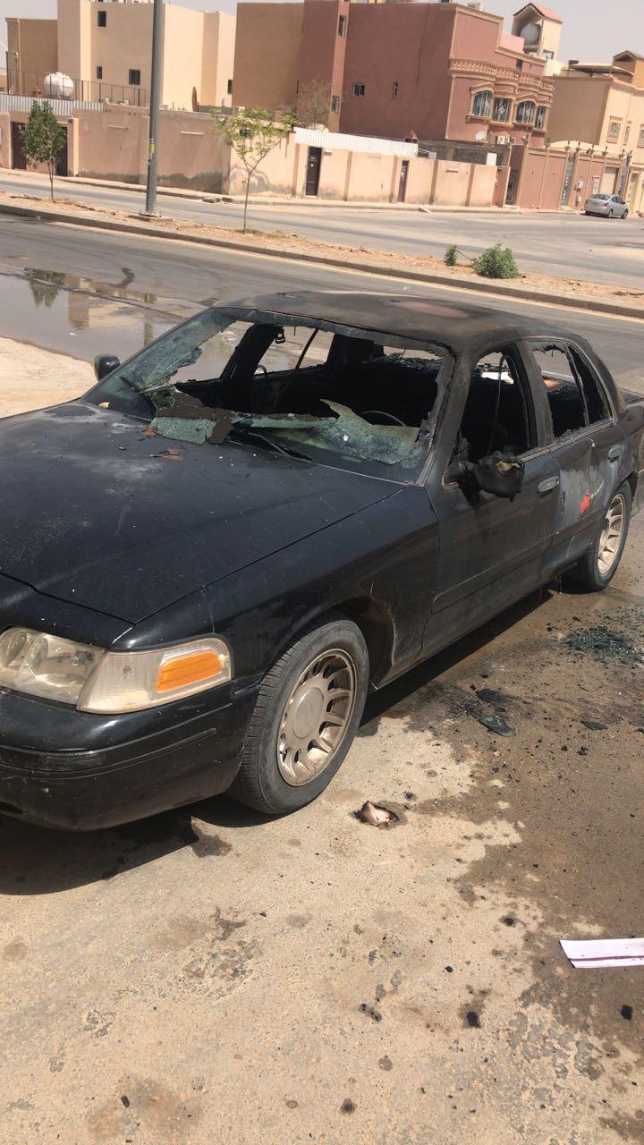 شرطة الرياض تضبط مواطن حرق عددا من المركبات