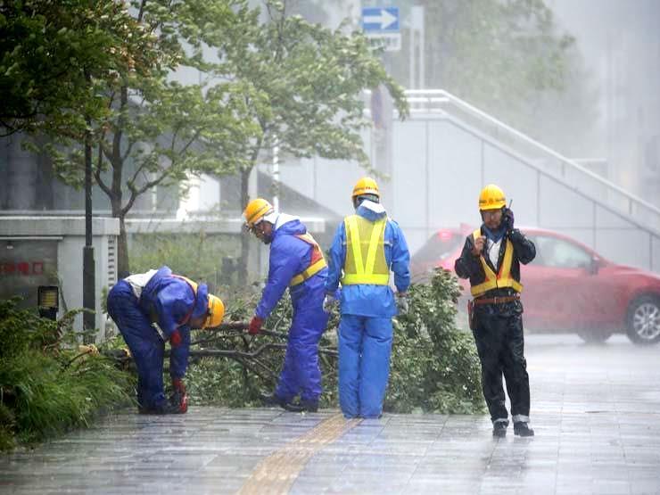 349 قتيلاً ومصاباً في أعتى عاصفة تضرب اليابان