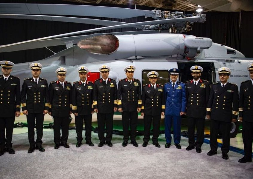 شاهد: أحدث طائرة قتالية متعددة المهام في أسطول البحرية السعودية