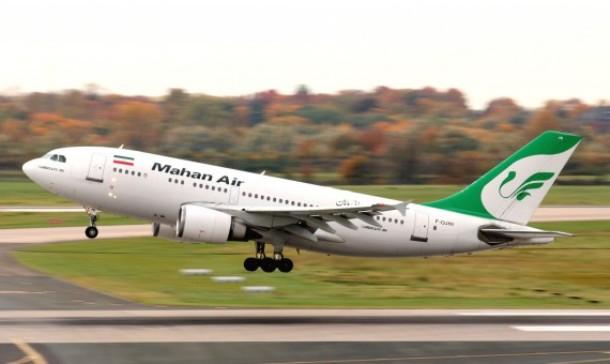 عقوبات أمريكية مشددة على إيران تشمل طيران ماهان وداعميها