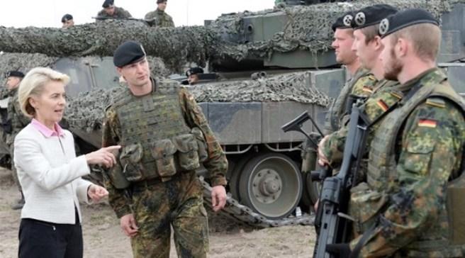 ألمانيا تدرس خيارات عسكرية ضد الأسد