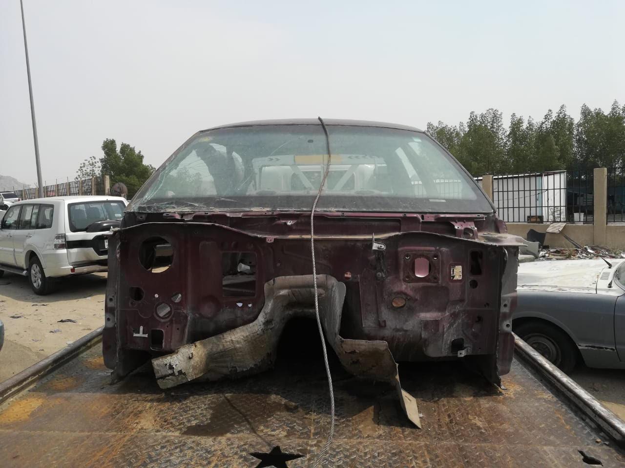 بلدية الشوقية الفرعية تزيل 65 هيكل وسيارة ومركبة تالفة