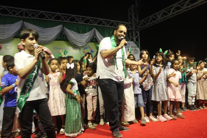بحضور 12 ألف زائر.. تعليم الأفلاج يختتم احتفالات اليوم الوطني