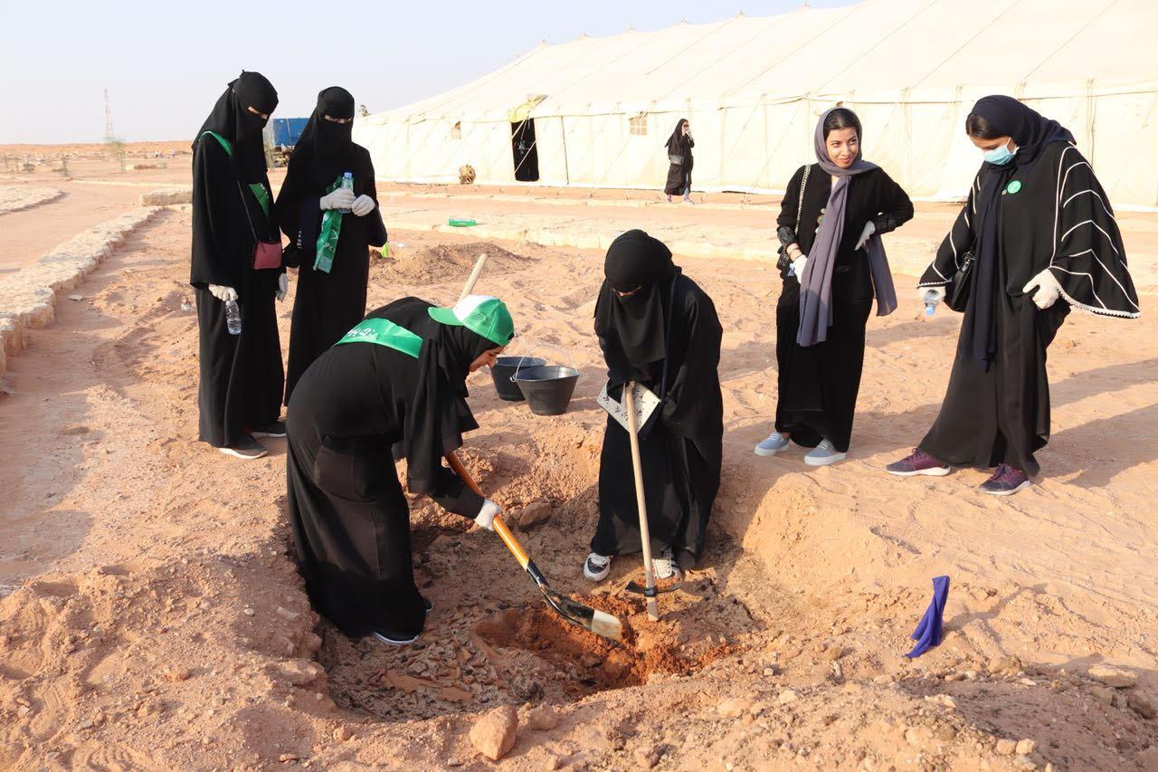 أمانة الرياض تطلق فعالية لزراعة وغرس الأشجار