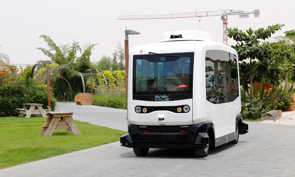 إطلاق أول مركبة أجرة ذاتية القيادة في الإمارات !