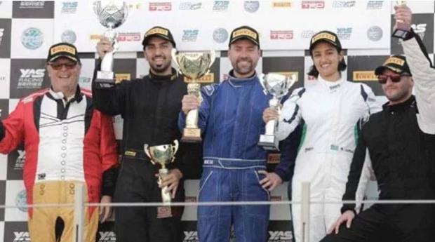 سائقة سعودية تحقق إنجاز تاريخي في سباق سيارات